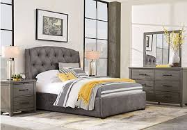 what color is mahogany furniture. urban plains gray 5 pc king upholstered bedroom what color is mahogany furniture