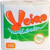 <b>Салфетки бумажные Linia</b> Veiro купить с доставкой по выгодной ...