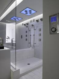 gorgeous high end multi jet shower with digital interface