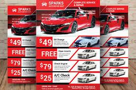Auto Repair Flyer Car Business Flyer