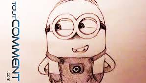 Dessiner Un Minion De Moi Moche Et M Chant Minion Drawing