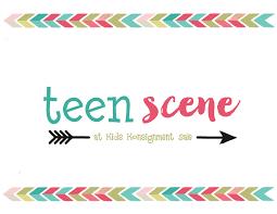 On the teen scene