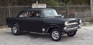 1955 Chevy Gasser - YouTube