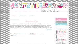 Letter Templates For Teachers Cute Blog Templates For Teachers Grey Pink Little Letter