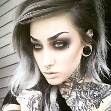 15 goth makeup ideas putcget