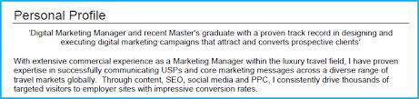 Social Media Marketing Job Description Enchanting Digital Marketing CV Example With Writing Guide And CV Template
