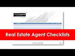 Realtor Flow Chart Real Estate Agent Checklist For Buyers And Sellers Youtube