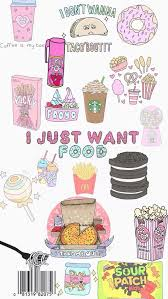 cute food wallpaper. Delighful Wallpaper Background Cute Food Kawaii Obsession Overlays Pastel Wallpaper On Cute Food Wallpaper 8