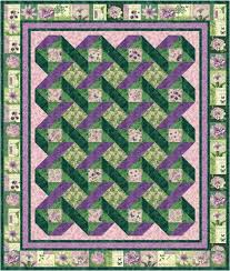 Small Picture Garden Trellis Quilt Pattern Downloadable