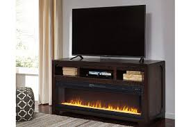 ashley furniture fireplace tv stand.  Stand Rogness 63 In Ashley Furniture Fireplace Tv Stand L