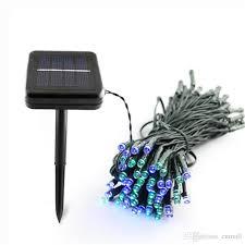 100 led 200 led outdoor 8 modes solar powered string light garden party fairy lamp 10m 22m c9 led light strings string lights led from