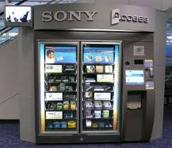 Different Types Of Vending Machines Extraordinary Sony Vending And Airport Convenience Shopper Culture