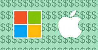 Microsoft Company Worth Microsoft Briefly Toppled Apple As The Most Valuable Company