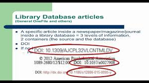 Mla Citation How To Cite Articles