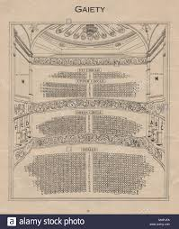 Gaiety Theatre Dublin Seating Chart Gaiety Theatre Vintage Seating Plan London West End