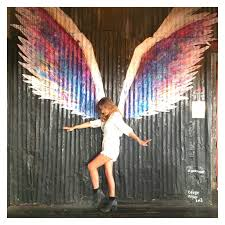 silverlake staircase los angeles ca on angel wings wall art los angeles address with doorsteps stairways colour pop walls top ten insta photo ops