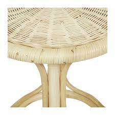 avery round side table natural by globe west