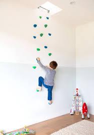 Kids Room: Wooden Climbing Wall For Kids Play - Kids Climbs