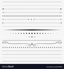 Divider Graphic Design Line Border Corner Design Divider