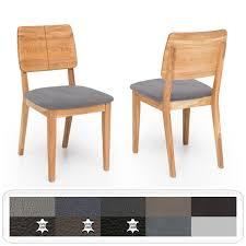 Holzstuhl Norea 2 Polsterstuhl Varianten Esszimmerstuhl Küchenstuhl
