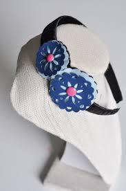 sizzix leather flower headband tutorial 10
