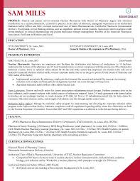 Pharmacist Resume Sample Best Pharmacist Resume Example 60