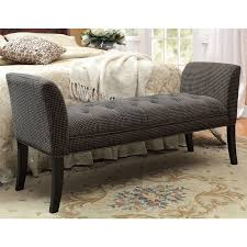 bedroom furniture benches. Awesome Furniture Cozy End Of Bed Benches For Inspiring Bedroom In Tufted Bench