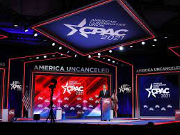 CPAC Stage Is Shaped Like a Nordic Rune ...