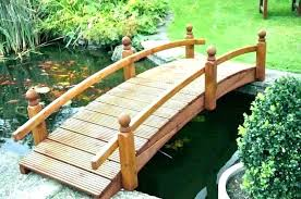 small wooden bridges for gardens small wooden garden bridge decorative garden bridge small wooden over pond