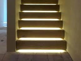 stair lighting led. Interesting Stair Lighting Detail Using LED Strips Led