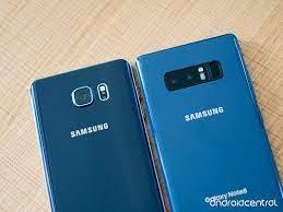 So sánh Galaxy Note 8 với Galaxy Note 5 - Fptshop.com.vn