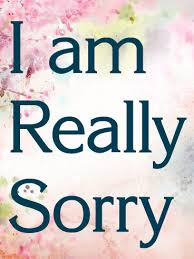 I Am Really Sorry Card Birthday Greeting Cards By Davia Magnificent Sorry
