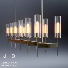 Jonathan browning lighting Drapery Hardware Johnatan Browning Alouette Chandelier 3d Max