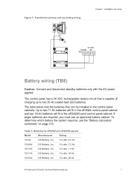 edwards signaling e fsa250r installation manual secondary wiring location 19