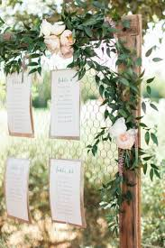 Wedding Seating Chart Ideas Pinterest