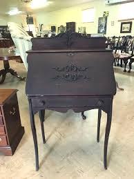 approx 1890 1920 oak lady s desk slant front