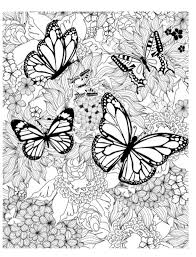 Butterfly is probably the only bug i don't mind seeing; Butterfly Coloring Pages And Other Free Printable Coloring Page Themes