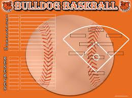 Baseball Lineup And Position Chart Baseball Softball Image Maker