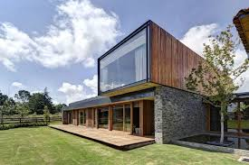 Wooden Modern Day House Plans