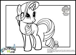 Small Picture My Little Pony Coloring Pages Baby Rarity httpeast colorcom