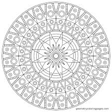 Small Picture Square Mandala Coloring Pages Coloring Pages