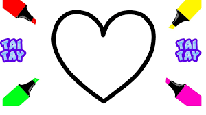 Small Picture Heart Shape Coloring Pages How to Draw Hearts for Baby Drawings