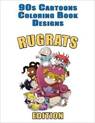 amazon 90s cartoons coloring book designs 30 rugrats designs for coloring stress relieving inspire creativity and relaxation of kids and s