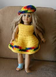 Free Crochet Patterns For American Girl Doll Custom Inspiration Design