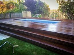 wood patio with pool. Open Air Wood Pool Deck Wood Patio With Pool