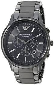 emporio armani men s ar1451 ceramica black ceramic watch emporio emporio armani men s ar1451 ceramica black ceramic watch