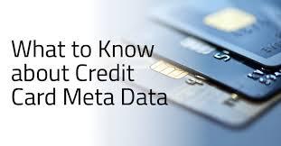credit card metadata not as anonymous