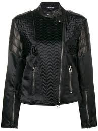 tom ford animal print leather jacket