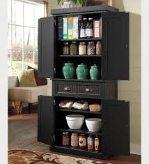 Kitchen Storage Cupboards Kitchen Room Kitchen Storage Pantry Cabinet With Black Small And