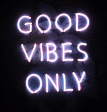 Good Vibes Light Up Sign Good Vibes Only Neon Sign Pink Glow Light Wall Tropical
